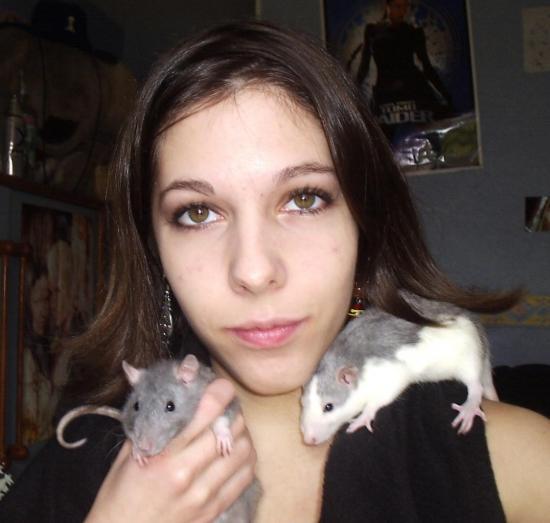 le trio, mes premières filles...2006